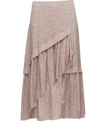 cete skirt ms18 knälång kjol rosa gestuz