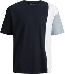 jack & jones men's atten colorblocked t-shirt