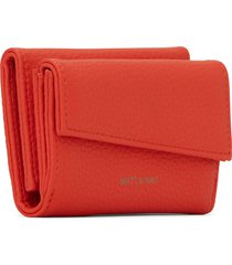 matt & nat tani small vegan wallet purity, fleur