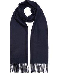 fringed cashmere scarf