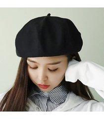 sombrero de pintor de sombreros de casual invierno para mujer