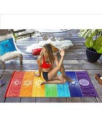 beach tassels blanket printed yoga towel summer gigantic tapestry need hot sale