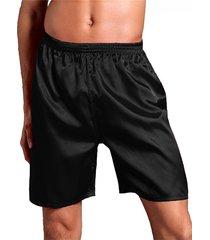 incerun hombres casual satén boxers pijama inicio shorts ropa de dormir
