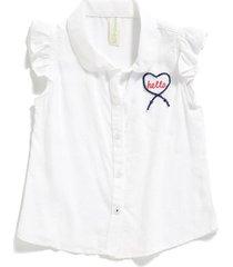 blusa alicia color blanco manga sisa