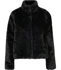 fuskpäls vmthea short faux fur jacket