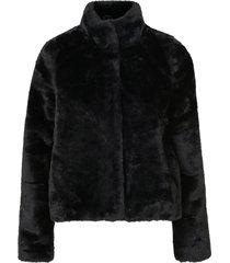 fuskpäls vmthea short faux fur jacket