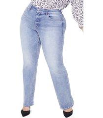 plus size women's nydj marilyn straight leg jeans