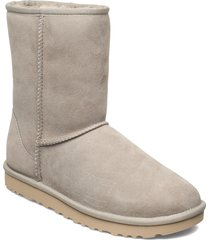 w classic short ii shoes boots ankle boots ankle boot - flat beige ugg