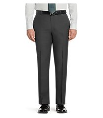 traveler collection tailored fit washable wool dress pant - big & tall clearance by jos. a. bank