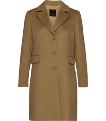cashmere coat w - britni 2 yllerock rock brun sand