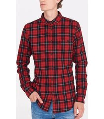 bench urbanwear flannel plaid shirt