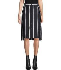debbie striped skirt