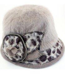sombrero gris almacén de paris