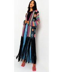 akira not your grandma's long sleeve knit cardigan