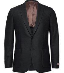 flannel jacket blazer colbert blauw morris