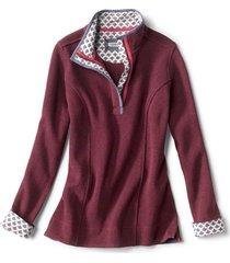 signature softest print-trimmed sweatshirt