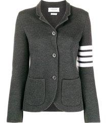 thom browne links stitch classic sb sport coat 2/ 4 bar in fine merino