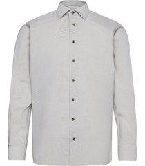 contemporary fit twill shirt overhemd business groen eton