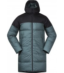 bergans jas unisex oslo down parka forest frost black-xxs