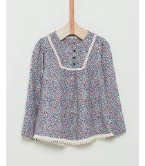 camisa animal print wanama b&g denisse