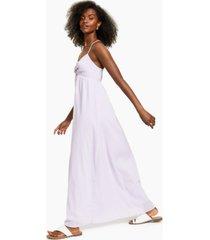 bar iii cross-back maxi dress, created for macy's