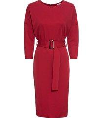abito oversize di jersey (rosso) - bodyflirt