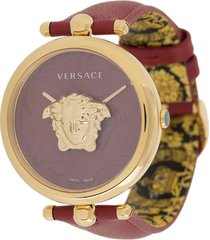 versace palazzo empire barocco 39mm watch - red
