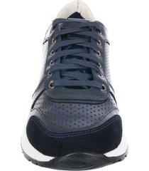 zapato casual jc perforado azul pierre d'agostiny