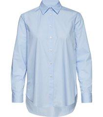 jane shirt långärmad skjorta blå filippa k