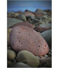 "christine sainte-laudy pink stone canvas art - 37"" x 49"""