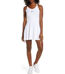 women's nike court dri-fit tennis dress