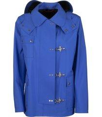 fay 4 ganci bluette jacket