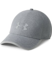 gorra under armour flash 1 panel gris claro