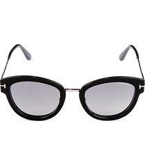 52mm gradient cat eye sunglasses