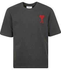 ami alexandre mattiussi chain stitched t-shirt