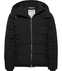 jackets outdoor woven gevoerd jack zwart esprit casual