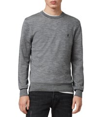 men's allsaints mode slim fit merino wool sweater