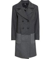 cappotto in misto lana (grigio) - rainbow