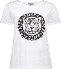 geisha t-shirt short sleeves off-white