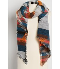 maurices womens multi print trapezoid scarf