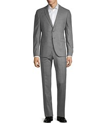 extra slim-fit marzotto wool suit