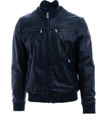 peuterey peuterey leather jacket