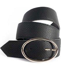 cinturón  negro la vie est belts isabella ii