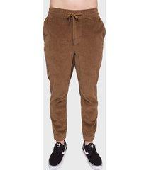 pantalón de buzo o'neill marrón - calce regular