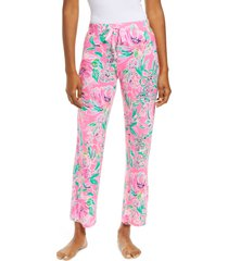 women's lilly pulitzer floral print sleep pants