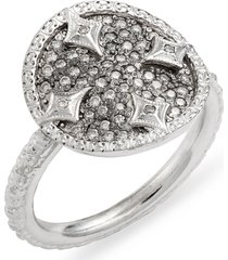 women's armenta new world pave disc ring