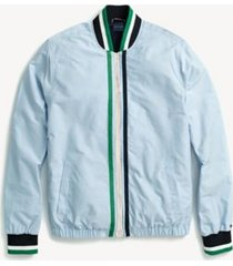 tommy hilfiger men's adaptive tennis bomber jacket collection blue - xl