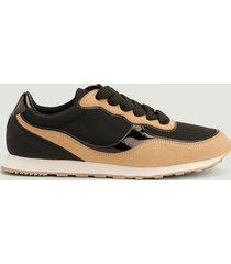 na-kd shoes lättviktiga träningsskor i retrostil - black