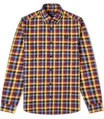 authentieke multi controleer gingham shirt