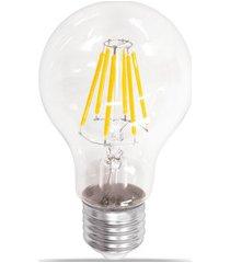 lâmpada led bulbo com filamento 4w bivolt 2400k luz amarela